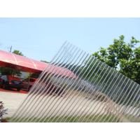 Quality Transparent Polycarbonate Sheet Hollow Twin Wall for sale