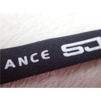 Quality Professional Polyester Elastic  Cloth Band With Printing Silicone Logo for sale