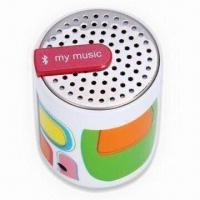 Quality Portable Speaker with Built-in 36mm USB Connector Charger, Measures 84.5 x 52.0 x 49.5mm for sale
