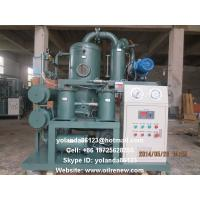 Quality High Vacuum Transformer Oil Processing, Dielectric Oil Purification, Oil Regeneration Unit for sale