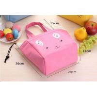 Quality Thermal Insulated Lunch Bags PEVA Lining Waterproof Environmental Friendly for sale