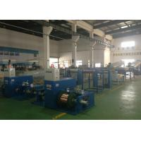 Buy cheap 100M / Min Tube Wire Annealing Machine Sky Blue With Brush Pay Off Method from wholesalers