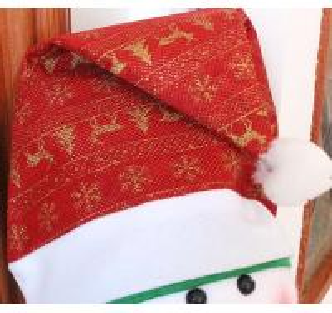 Christmas Cap Lovely Deer Design Christmas Hat Christmas Santa Cap