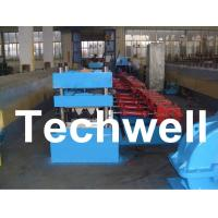 China 15 Forming Station Crash Barrier Roll Forming Machine for Highway Guardrail TW-W312 on sale