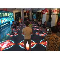 Quality Stage DIY 3D Portable LED Dance Floor Panels Screen 4.81mm Pixel Pitch for sale