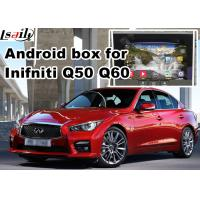 Quality Navigation Video Interface for 2015-2016 Infiniti Q50 Q60 Andorid services, online navigation video play for sale