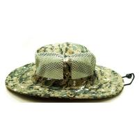 China Breathable Vented Mesh Cotton Bucket Hat For Men Camouflaged Patterns Available on sale
