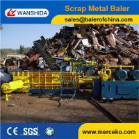 China Overseas After-sales Service Provided HMS Metal Baler Machine to squash scrap steel parings and waste steel on sale