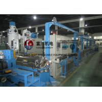 Quality Fuchuan Low Smoking Plastic Extruder Machine With Screw Dia 70mm For Wire Dia 1.5-12mm for sale