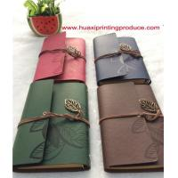 Buy cheap Leather Cover Notebook from wholesalers