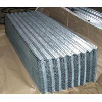 Quality SGCC DX51D ASTM Galvanized Corrugated Steel Roofing Sheets Chromated Surface for sale