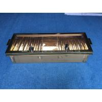 Buy cheap 10 ROW 40mm  Aluminum Golden Poker Chip Rack Casino Accessories With Cover product