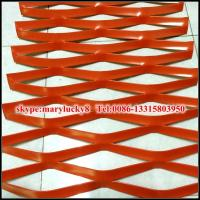 Quality powder coating aluminum steel plate expanded metal mesh for sale