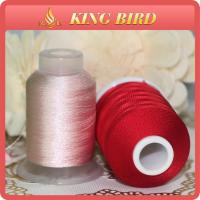 China Red High Tenacity 120d 2 Viscose 100% Rayon Embroidery Threads for Machines on sale