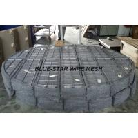 Quality Duplex Stainless Steel Filter Wire Mesh Demister Pads / Coalescer 300 mm - 6000 mm for sale