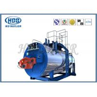 Buy cheap Oil Fired / Gas Fired Steam Boiler , Industrial Steam Generators High Efficiency product
