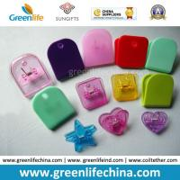 China Plastic Colorful Semi-Circle/Star/Heart/Square Office Paper Clips on sale