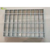 Quality Stair Walkway Treads I bar Serrated Grid Mesh Floor Galvanized Metal Grating for sale