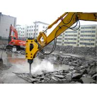 China What is the best way of breaking concrete building bridge pile?BYD145 excavator hydraulic breaker on sale