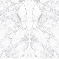 Quality Statuario White 1600x3200 12mm Porcelain Marble Tiles Glossy Polished for sale