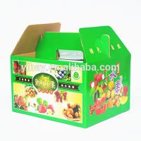 Quality Fruit Corrugated Gift Box Professional 4C Printing Corrugated Food Boxes for sale