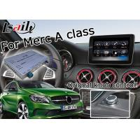 Quality Android car gps navigation box interface for Mercedes benz  A class ( NTG 5.0 ) mirrorlink for sale