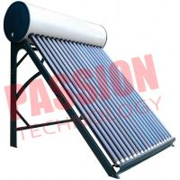 China High Efficient Non Pressurized Solar Water Heater Vacuum Tube Easy Installation on sale