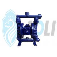 Buy cheap Cast Iron Pneumatic Diaphragm Pump , Dual Diaphragm Air Pump With High Suction Head product