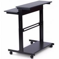 Quality Lifting Up Modern Furniture Table Adjustabole Height Stainless Computer Desk for sale