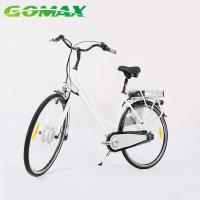 Quality City bike style Lithium battery operated electric road bicycle for sale