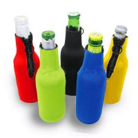 Quality Cans Use and  Insulated Type 330ml Neoprene wine cooler size is 19cm*6.3cm, SBR material. for sale