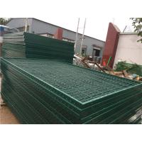 China Corrosion Resistance Mesh Wire Cross Square Pipe Frame Mountain Forest Fence on sale
