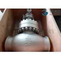 Quality A216 WCB Carbon Steel Body Flanged End BS 1873 Globe Valve Plug Type Disc 150Lb ~ 2500Lb for sale