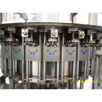 Quality Automatic Glass Bottle Sparkling Water Carbonated Drink Filling Machine SUS304 Material for sale