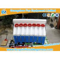 Quality 6mL*2.5mW*4mH Inflatable Basketball Games Inflatable Shooting Score for sale