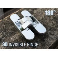 Quality 110X24X29/25 mm Zinc Alloy 180 Degree Opening Concealed Hinges For Folding Door for sale