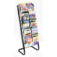 Wall mount mail holder and key rack--black