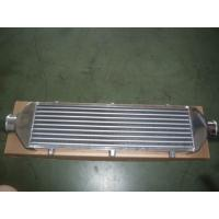 Quality Compact Vacuum Finned Tube Heat Exchanger / Aluminum Intercooler For Car  for sale