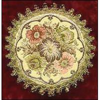 Quality hotel silver decorative table mat for sale