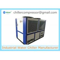 China 109kw/30TONS Scroll Compressor Air Cooled Water Chiller Industrial Chiller on sale