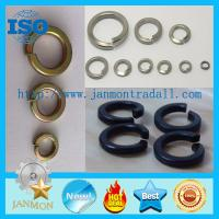 Quality Black/Zinc Plated Spring Washer,Spring washer,Spring steel washer,Zinc galvanized spring washer for sale