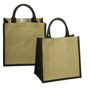 China Premium Jute Promotional Shopping Bags Plain Hessian Burlap Custom Beach Bags on sale