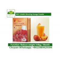 Buy cheap Peach Powder Leisure Slimming Juice , Fat Burning Fruit Juice For Weight Loss product