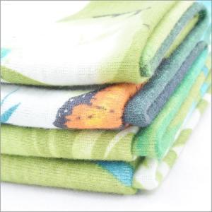 China Rusha Textile  Butterfly Printed 30s Poly Spun Single Jersey 1x1 Rib Knit Fabric on sale