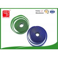 Quality Custom sew on male and female Hook and Loop Tape 25 m per roll for sale