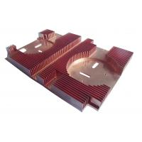 Buy cheap Customized Skiving Copper Heatsink Aluminum Heatsink Extrusion For Computer Mainboard from wholesalers