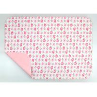China Wipeable Non Toxic Baby Changing Pad Fold Up Changing Mat PE Waterproof Layer on sale