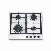 Quality Gas Stove, Made of Stainless Steel Panel, 10.5kg Net Weight, Sized 590 x 510mm for sale