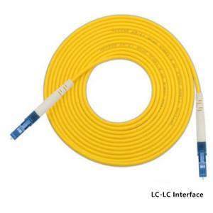 Quality LC-SC FC To ST Single Mode Single Core Fiber Optic Patch Cord Jumper Cable for sale