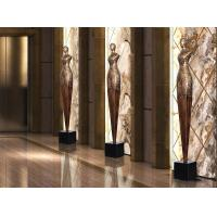 Buy cheap Floor Standing Shop Window Displays Accessories Copper Statue For Shop Window Decoration from wholesalers